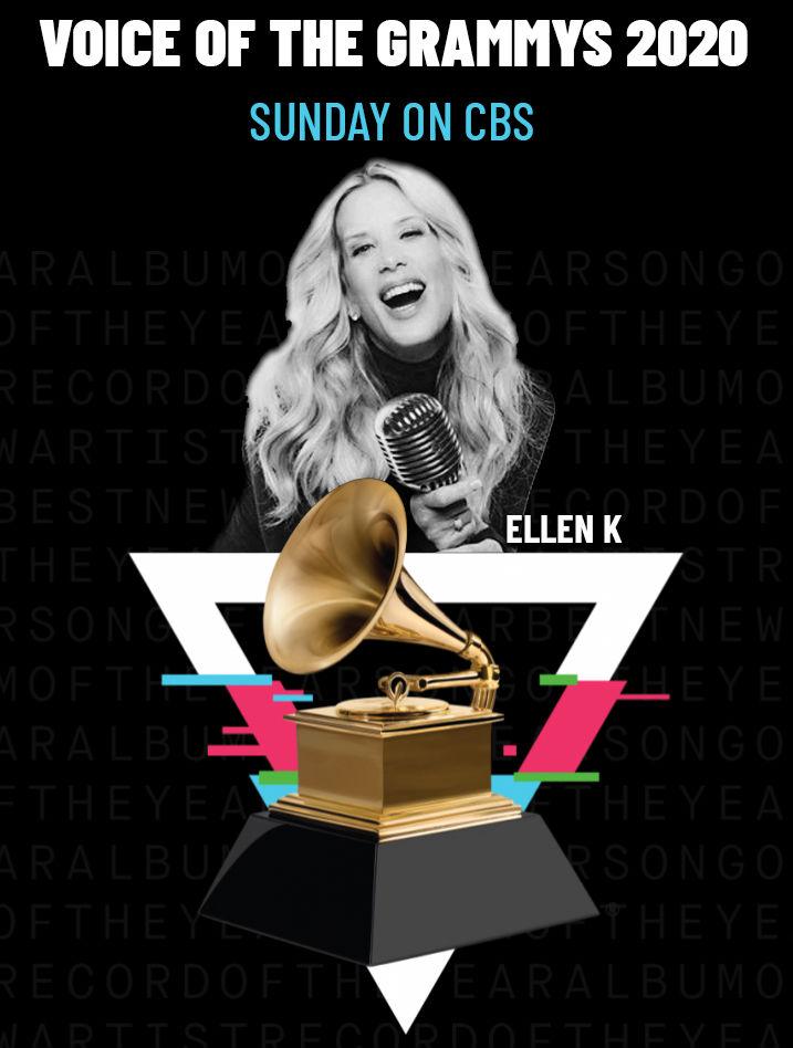 Ellen K Is The Voice Of The Grammys!